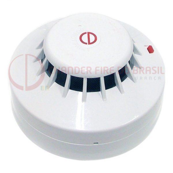 Detector Convencional de Fumaça Fotoelétrico Com Supervisão – CD-180